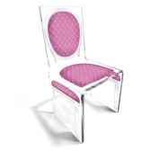 chaise aqua l16 chic rose design samy aitali