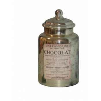 """Pot avec couvercle \""""chocolat\"""" Antic Line -SEB13338"""