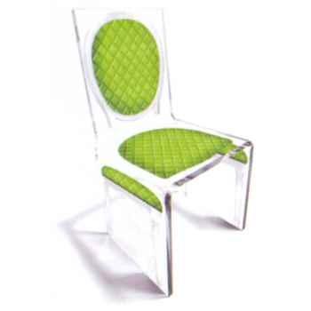 Chaise Aqua L16 Chic Vert Design Samy, Aitali