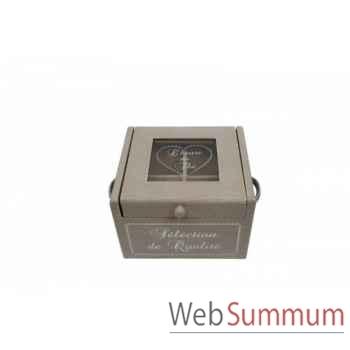 Boîte à thé Antic Line -SEB11324