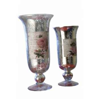 Set 2 vases Antic Line -SEB12198