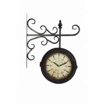 "Pendule de gare \""kensington\"" Antic Line -SEB12440"