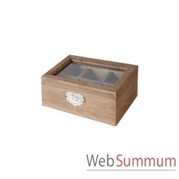 Boîte à thé Antic Line -DEC4116