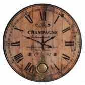 pendule archambault a balancier 59 cms antic line dec7229