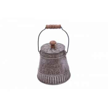 Poubelle de table zinc Antic Line -SEB10402