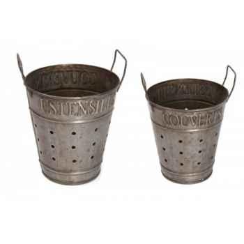 Pot porte couverts/ustensiles Antic Line -SEB11779