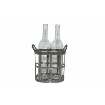 Panier 2 bouteilles Antic Line -SEB13003