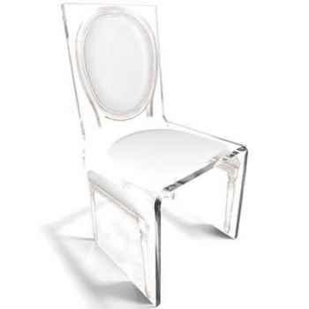 Chaise Aqua L16 Original Blanc Aitali
