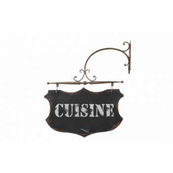 Plaque cuisine sur patère Antic Line -DEC9297