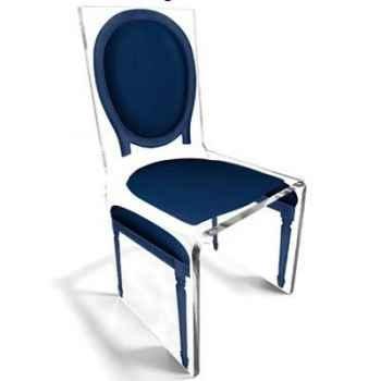 Chaise Aqua L16 Original Bleu Aitali