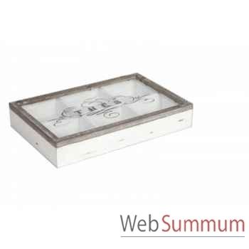 Boîte à thé Antic Line -SEB12310