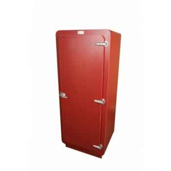 Armoire style frigo 1 porte + 3 étagères Antic Line -CD475