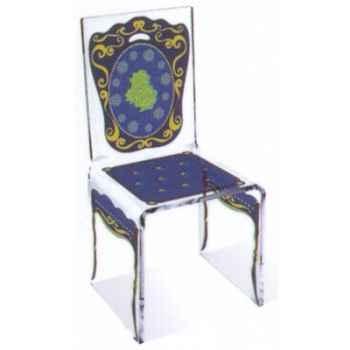Chaise Aqua Napo Bleu design Samy, Aitali