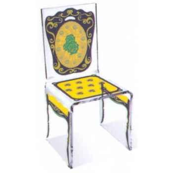 Chaise Aqua Napo Jaune design Samy, Aitali