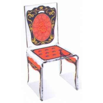 Chaise Aqua Napo Orange design Samy, Aitali
