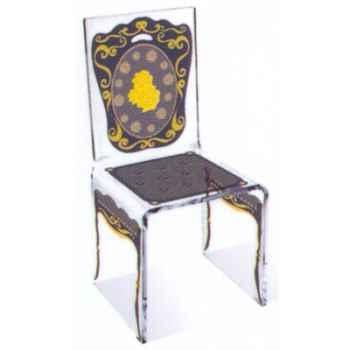 Chaise Aqua Napo Gris design Samy, Aitali