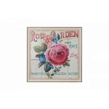 Tableau rose garden Antic Line -SEB11884