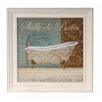 Tableau baignoire salle de bain Antic Line -DEC7575