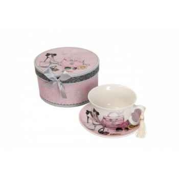 Coffre avec tasse/sous tasse Antic Line -SEB12029