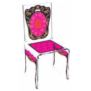 Chaise Aqua Napo Rose design Samy, Aitali