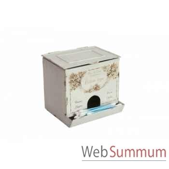 Boîte à coton tige Antic Line -SEB11616