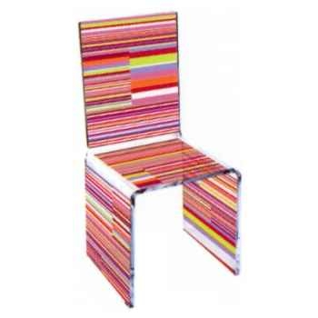 Chaise Aqua Single St Germain design Samy, Aitali
