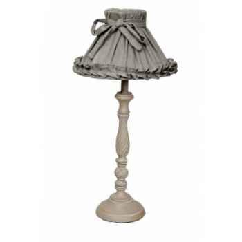 Lampe avec chapeau h 54 cm Antic Line -SEB12698