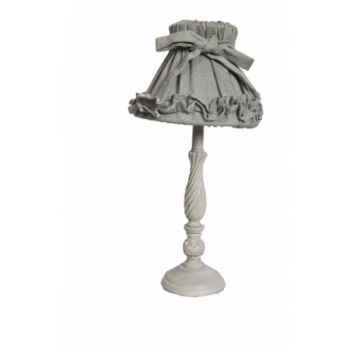 Lampe avec chapeau h 42 cm Antic Line -SEB12697
