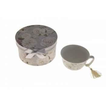 Coffret tasse et sous tasse Antic Line -SEB12523