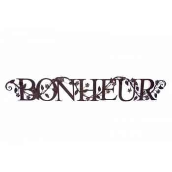 "Mot \""bonheur\"" Antic Line -SEB11153"