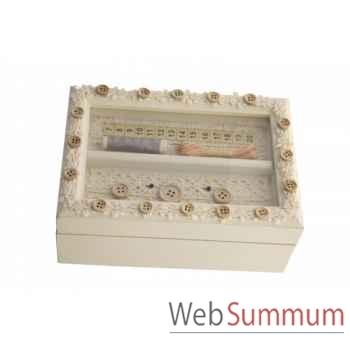 Boîte à couture Antic Line -SEB12463