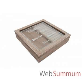 Boîte à bijoux Antic Line -SEB11256