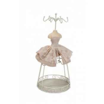 Mannequin porte bijoux robe Antic Line -SEB11656
