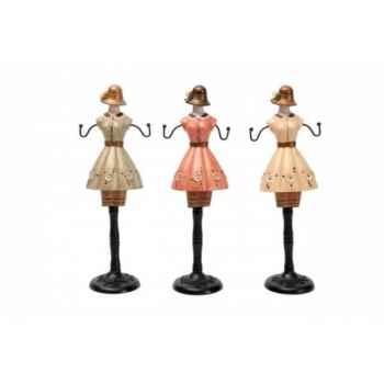 Set 3 mannequins Antic Line -SEB11635