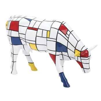 Vache Cow Parade Moondriaan New York 2000 -46537