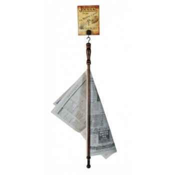 Porte journal Antic Line -Dec7938