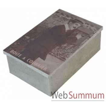 Boîte à courrier Antic Line -dec6379