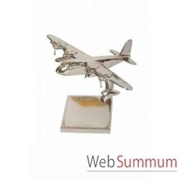 Avion vide-poche pm chrome Antic Line -DEC8358