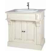 meuble salle de bain pm sans vasque et sans robinet plateau bois antic line cd54