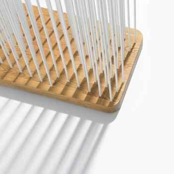 Table d\' appoint double plateau Antic Line -CD417