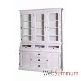 buffet apothicaire 2 portes 3 tiroirs antic line cd518b