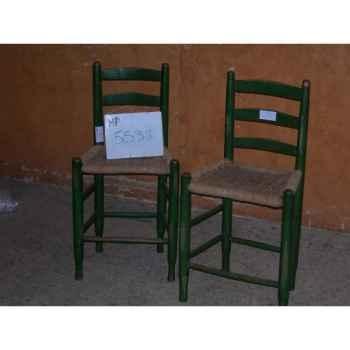 Paire de chaise Antic Line -MP05538