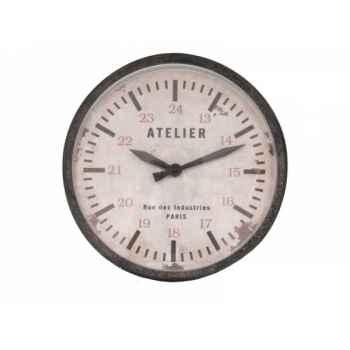 Pendule atelier Antic Line -SEB13337