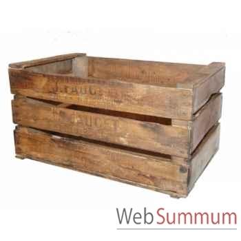 Caisse en bois Antic Line -SEB11600