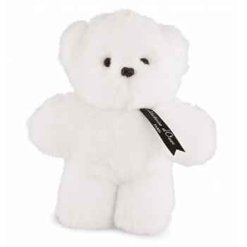 Ours mini baby blanc histoire d\'ours -2275