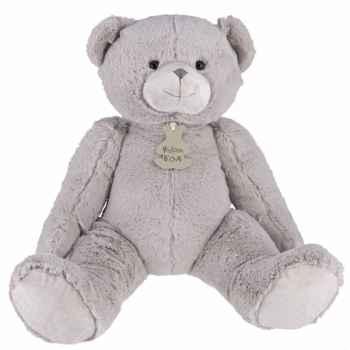Calin\'ours 50 cm - gris perle histoire d\'ours -2337