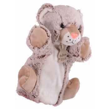 Marionnette z\'animoos leopard des neiges histoire d\'ours -2379