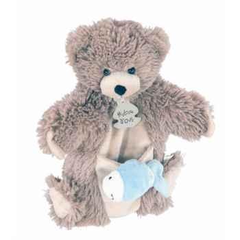 Marionnette ours & mario à doigt poisson histoire d\'ours -2367