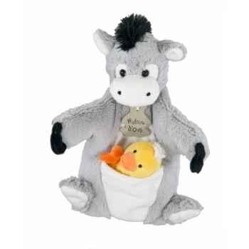 Marionnette ane & mario à doigt canard histoire d\'ours -2370