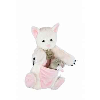Marionnette chat & mario à doigt souris histoire d\'ours -2372
